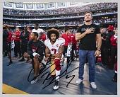 view Signed digital print of Colin Kaepernick kneeling during national anthem digital asset number 1