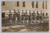 view Photographic postcard of soldiers of L Company, 25th Infantry digital asset number 1