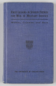 view <I>First Lessons in Spoken French for Men in Military Service</I> digital asset number 1