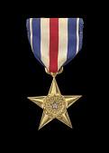 view The Silver Star issued for First Lieutenant John E. Warren, Jr. digital asset number 1