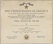view The Silver Star Citation issued for First Lieutenant John E. Warren, Jr. digital asset number 1