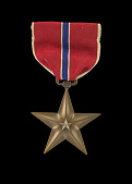 view The Bronze Star issued for First Lieutenant John E. Warren, Jr. digital asset number 1