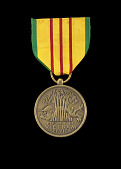 view Republic of Vietnam Service medal issued to First Lieutenant John E. Warren Jr. digital asset number 1