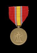 view National Defense Service medal issued to First Lieutenant John E. Warren Jr. digital asset number 1