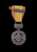view Vietnam Gallantry Cross Medal issued to First Lieutenant John E. Warren Jr. digital asset number 1