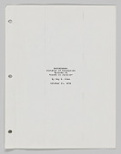 view Brotherman Comic script written by Guy A. Sims digital asset number 1