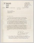 view Letter from H.W. Sewing for Daisy Bates Trust Fund digital asset number 1