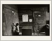 view <I>Untitled (boy at blackboard)</I> digital asset number 1