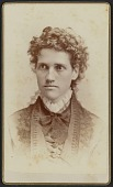 view Carte-de-visite portrait of Miss Julia J. Thomas digital asset number 1