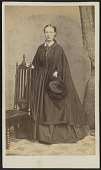 view Carte-de-visite portrait of Carrie N. Lacy digital asset number 1