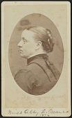 view Carte-de-visite portrait of Abby D. Munro digital asset number 1