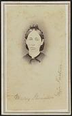 view Carte-de-visite portrait of Mary Shriner digital asset number 1