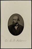view Tintype portrait of Col. C. W. Folsom digital asset number 1