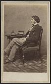 view Carte-de-visite portrait of Charles Sumner digital asset number 1
