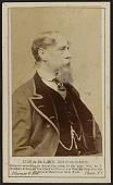view Carte-de-visite portrait of Charles Dickens digital asset number 1