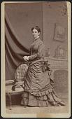 view Carte-de-visite portrait of Anna M. Stanton digital asset number 1