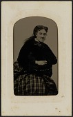 view Tintype portrait of Mrs. Annie Cox digital asset number 1