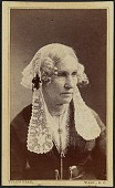 view Carte-de-visite portrait of Mary Ann Donaldson digital asset number 1