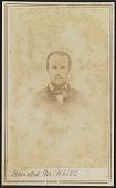 view Carte-de-visite portrait of Harold M. White digital asset number 1