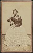 view Carte-de-visite portrait of Harriet Tubman digital asset number 1