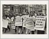 view <I>Harlem Peace March</I> digital asset number 1