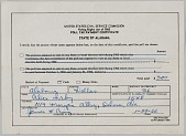 view Poll Tax Payment Certificate from the state of Alabama digital asset number 1