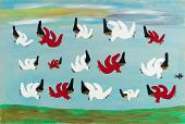 view <I>Untitled (Good and Bad Angels Flying)</I> digital asset number 1