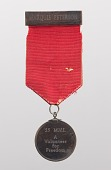 """view """"55 M.V.I. A Volunteer for Freedom"""" medal owned by Marquis Peterson digital asset number 1"""