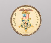 view Pinback button for the Grand Army of the Republic owned by Marquis Peterson digital asset number 1