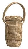 view <I>Lidded Journey Basket with Handle</I> digital asset number 1