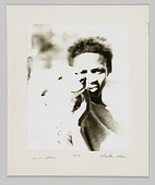 view Portrait of Ida Mae Johnson Nelson with a dog digital asset number 1