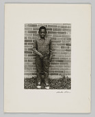 view Portrait of an unidentified student at elementary school digital asset number 1