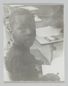 view Portrait of an unidentified student in kindergarten class digital asset number 1