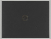 view Wedding Invitation Suite: Large black envelope digital asset number 1