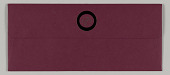 view Wedding Invitation Suite: Maroon invitation envelope digital asset number 1