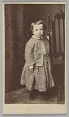 view Carte-de-visite of Hubert Gideon Welles in outfit sewn by Elizabeth Keckley digital asset number 1
