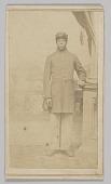 view Carte-de-visite of an unidentified Union soldier digital asset number 1