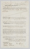 view Bill of sale for four enslaved persons in Charleston, South Carolina digital asset number 1