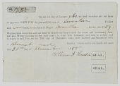 view Hiring agreement for an enslaved woman named Martha in South Carolina digital asset number 1