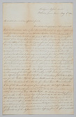 view Letter to Mrs. Mary Denham from Joseph May digital asset number 1