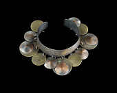 view Cuff bracelet with dangling orbs designed by Winifred Mason Chenet digital asset number 1