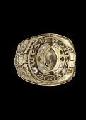 view 2005 West Point class ring owned by 2nd Lieutenant Emily J. T. Perez digital asset number 1