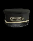 view Uniform cap for a Pullman attendant digital asset number 1