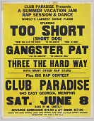 view Poster for a concert at Club Paradise in Memphis digital asset number 1