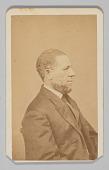view Carte-de-visite portrait of United States Senator Hiram Revels digital asset number 1