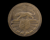 view Bronze Medal honoring the 371st Infantry digital asset number 1