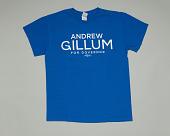 view Blue t-shirt for Andrew Gillum gubernatorial campaign digital asset number 1
