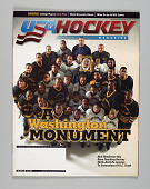 view <I>USA Hockey Magazine, Volume 29, Number 3</I> digital asset number 1