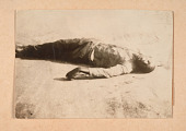 view Photograph of the body of a man killed in the Tulsa Race Massacre digital asset number 1