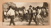 view Photograph of a crowd of people walking toward a building in Tulsa digital asset number 1